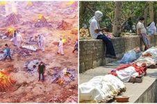 10 Potret terkini korban tsunami Covid-19 di India