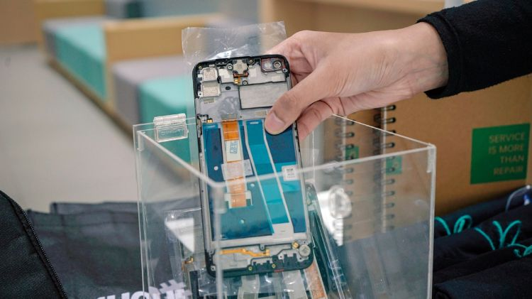 Langkah kecil Oppo peduli lingkungan hidup, olah sampah elektronik