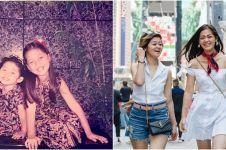 10 Transformasi Gracia Indri dan Gisela Cindy sedari kecil