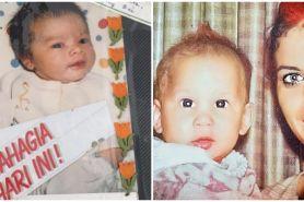 Potret lawas 10 seleb saat bayi, Andhika Pratama curi perhatian