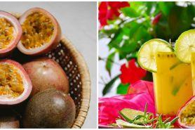 9 Resep minuman buka puasa dari markisa, segar dan mudah dibuat