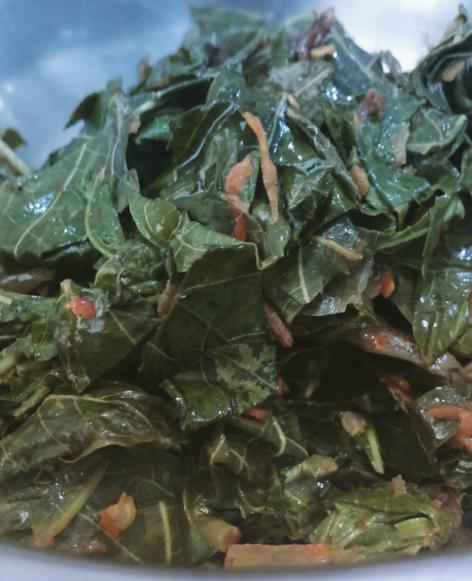 sayur daun singkong pedas © 2021 brilio.net
