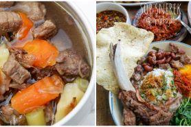 10 Resep sup daging sapi untuk sahur, enak dan bikin nagih