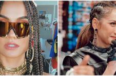 Potret 10 seleb cantik rambut cornrows, Maia Estianty curi perhatian