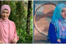7 Beda gaya pemeran Zahro & Putri Para Pencari Tuhan di lokasi syuting
