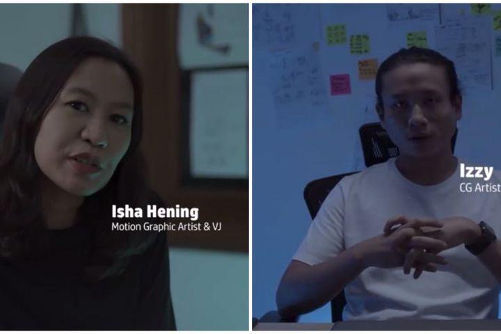 Cerita mentor HP Mentorship Project garap digitalisasi Roro Jonggrang
