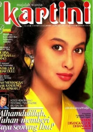 Potret 10 seleb cantik era 90-an di cover majalah Kartini © berbagai sumber