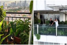 Penampakan kebun 7 seleb di balkon, milik Daniel Mananta penuh sayuran