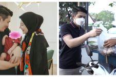 9 Momen Irwansyah & Zaskia ngabuburit ajak Ukkasya, borong jajanan