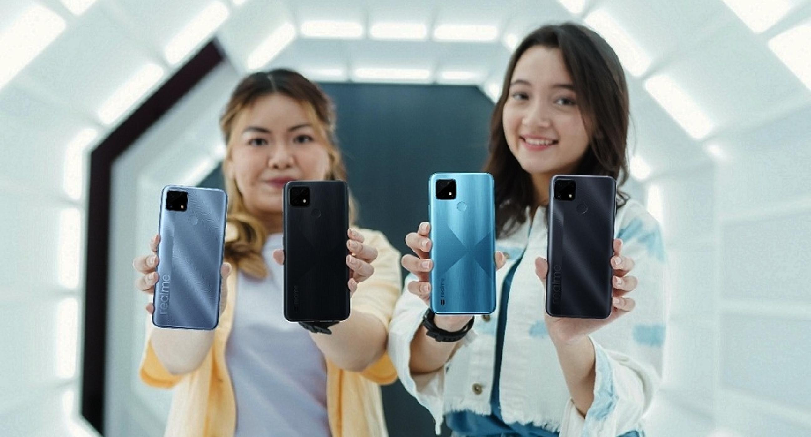 Nih 5 Smartphone realme terbaik 2021 yang dibanderol Rp 2 jutaan