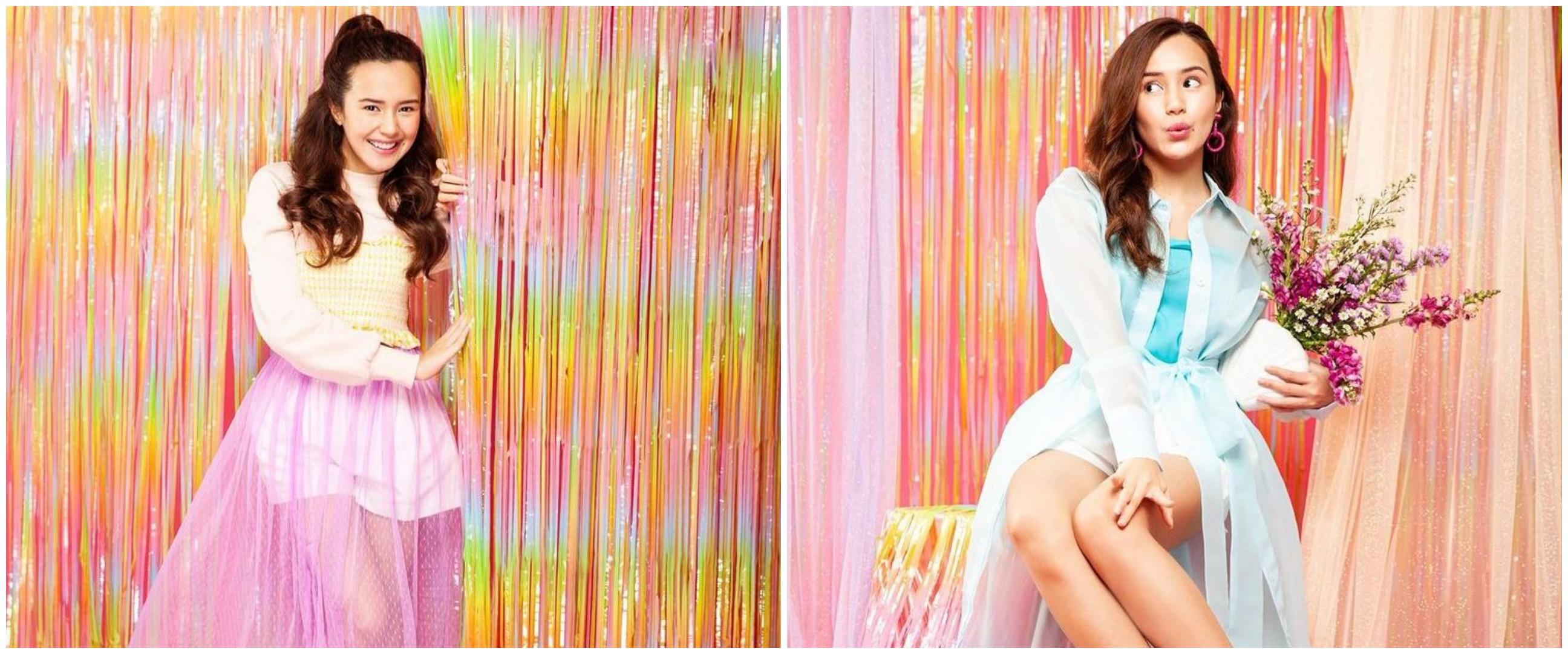 10 Gaya outfit Beby Tsabina dengan nuansa pastel, stylish abis