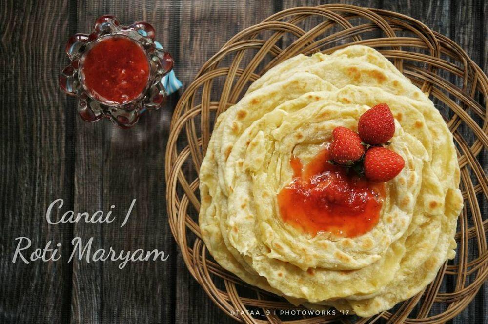 Resep roti maryam manis praktis dan sehat © berbagai sumber