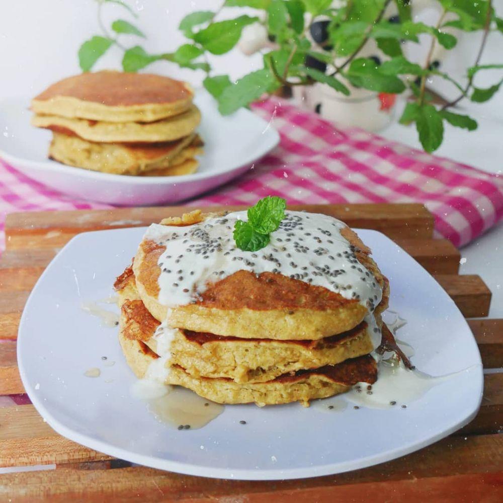 Resep pancake manis dan lembut © berbagai sumber