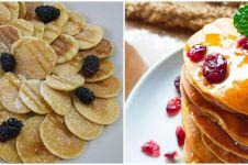 10 Resep pancake manis untuk buka puasa, lembut & mudah dibuat