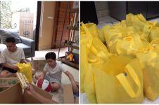 10 Momen Nagita & Raffi siapkan ratusan sembako, dibagi se-Jakarta