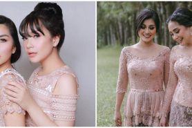 10 Potret kompak Nagita Slavina dan Nisya Ahmad, bak saudara kandung