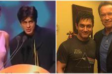 10 Momen aktor Bollywood bertemu idola, Shah Rukh Khan salah tingkah