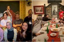 10 Momen Mulan Jameela dan mantan suami buka bersama, ajak Ahmad Dhani