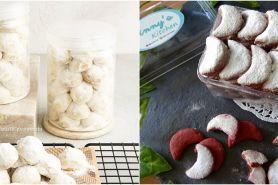 30 Resep kue putri salju untuk Lebaran, lembut, kering, dan antigagal