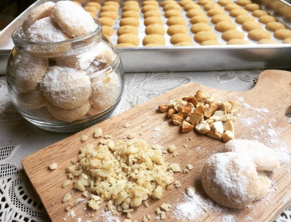 Resep aneka kue putri salju © 2021 brilio.net
