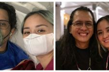 7 Momen Joanna Alexandra setia temani sang suami di rumah sakit