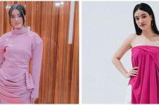8 Gaya outfit Mawar Eva De Jongh serba pink, manis memesona