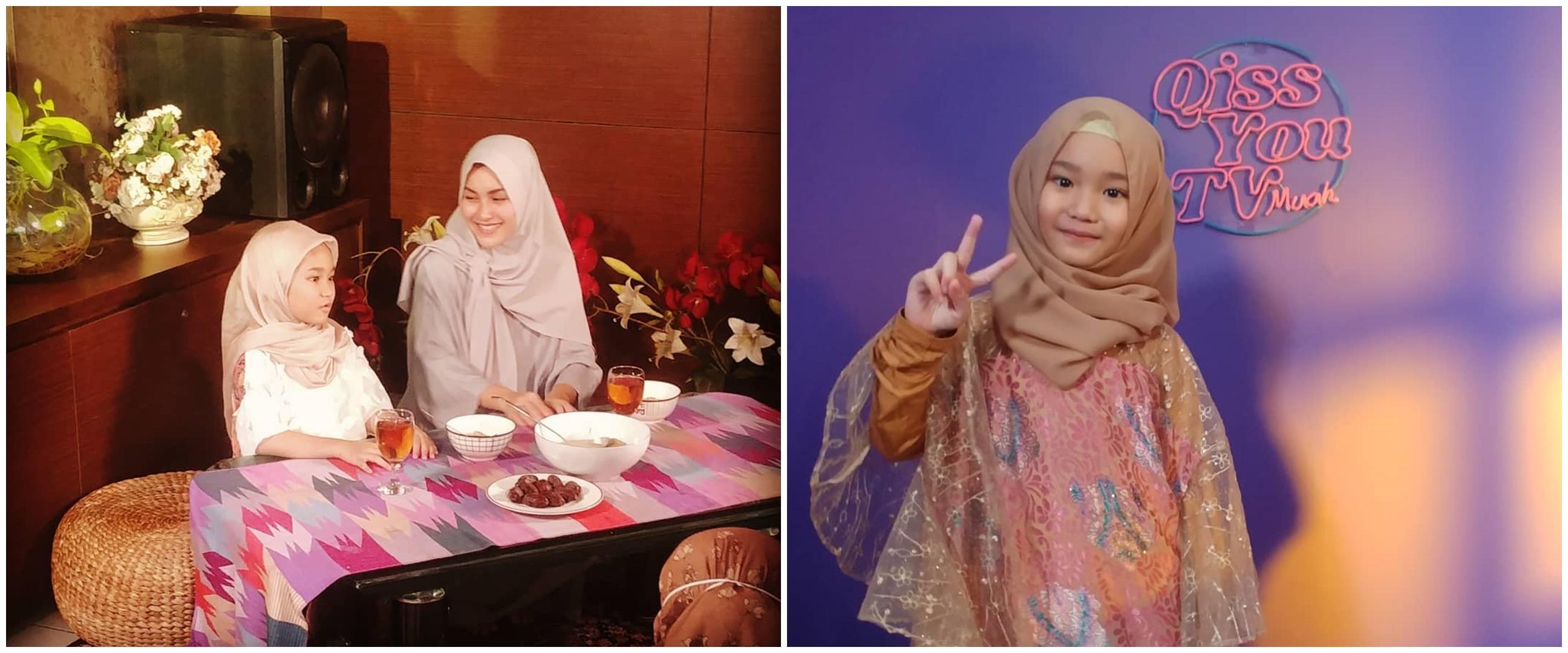 10 Potret Bilqis anak Ayu Ting Ting debut jadi presenter cilik