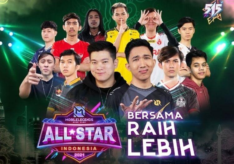 Mobile Legends umumkan tim All Star Match 2021, turnamen makin seru