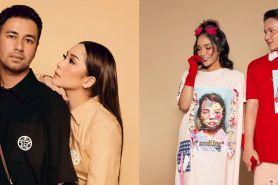 Gaya pemotretan 10 presenter dan pasangan, Donna Agnesia colorful