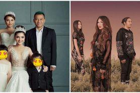 Gaya pemotretan keluarga 9 musisi, bisa jadi inspirasi