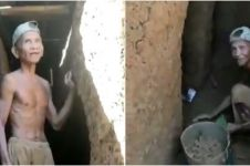 6 Potret rumah bawah tanah buatan seorang kakek di Sulsel, keren abis