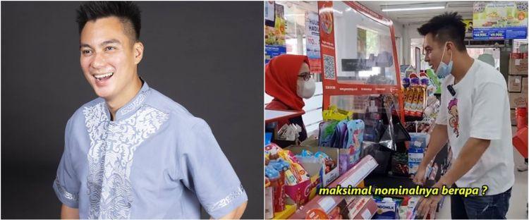 10 Momen Baim Wong borong di minimarket, semua pengunjung dibayarin