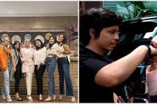 10 Momen Aurel Hermansyah buka bareng teman SMA, curhat usai menikah