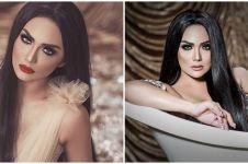 7 Pesona Krisdayanti dengan makeup gothic, parasnya jadi sorotan