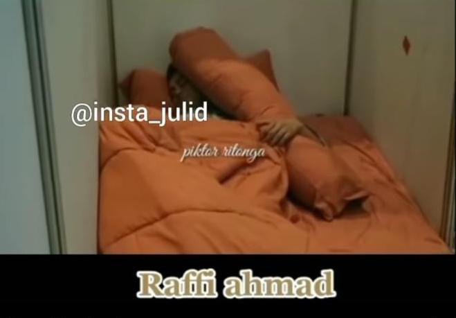 kamar Raffi Ahmad syuting sahur © 2021 brilio.net