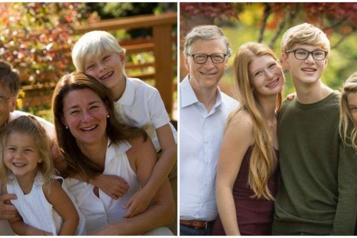 10 Potret kebersamaan Bill Gates dan keluarga, penuh kenangan