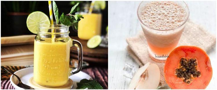 10 Resep jus aneka buah untuk buka puasa, sehat & menyegarkan