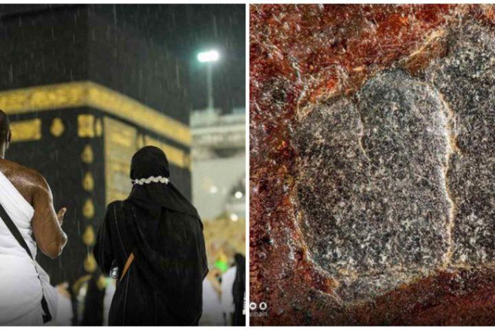 6 Foto detail Hajar Aswad yang belum pernah dipublikasikan, memukau
