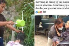 Viral kisah suami sabar rawat istri yang sedang sakit, bikin terenyuh