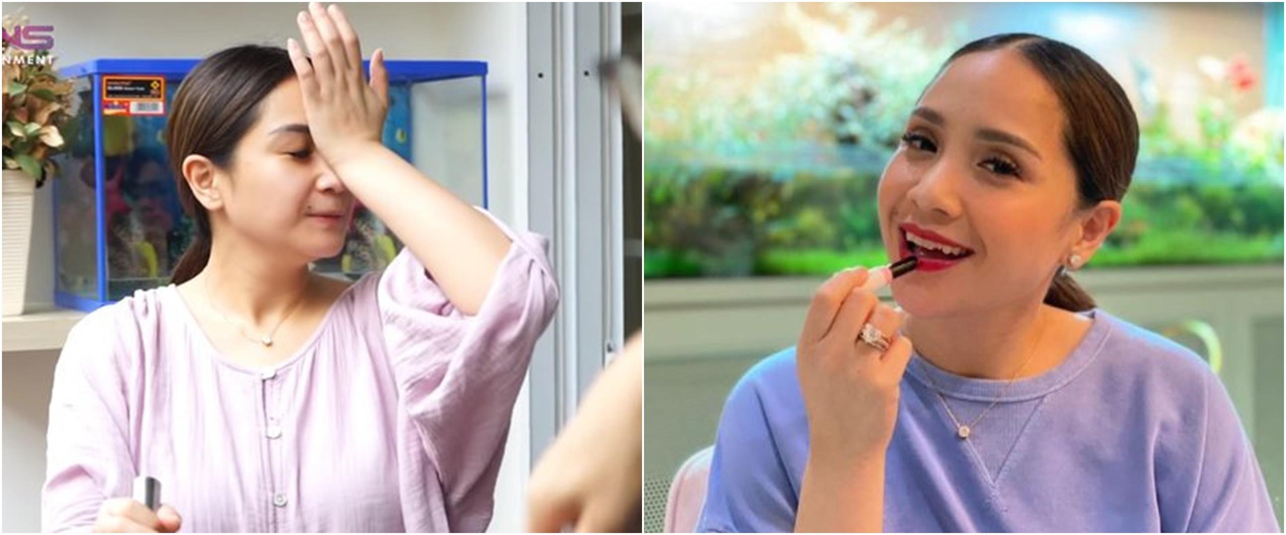 9 Momen Nagita masak besar saat hamil, buat makan bareng karyawan