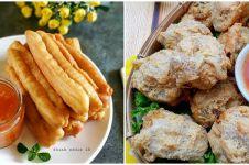 16 Resep camilan yang cocok dicocol dengan saus, enak dan mudah dibuat