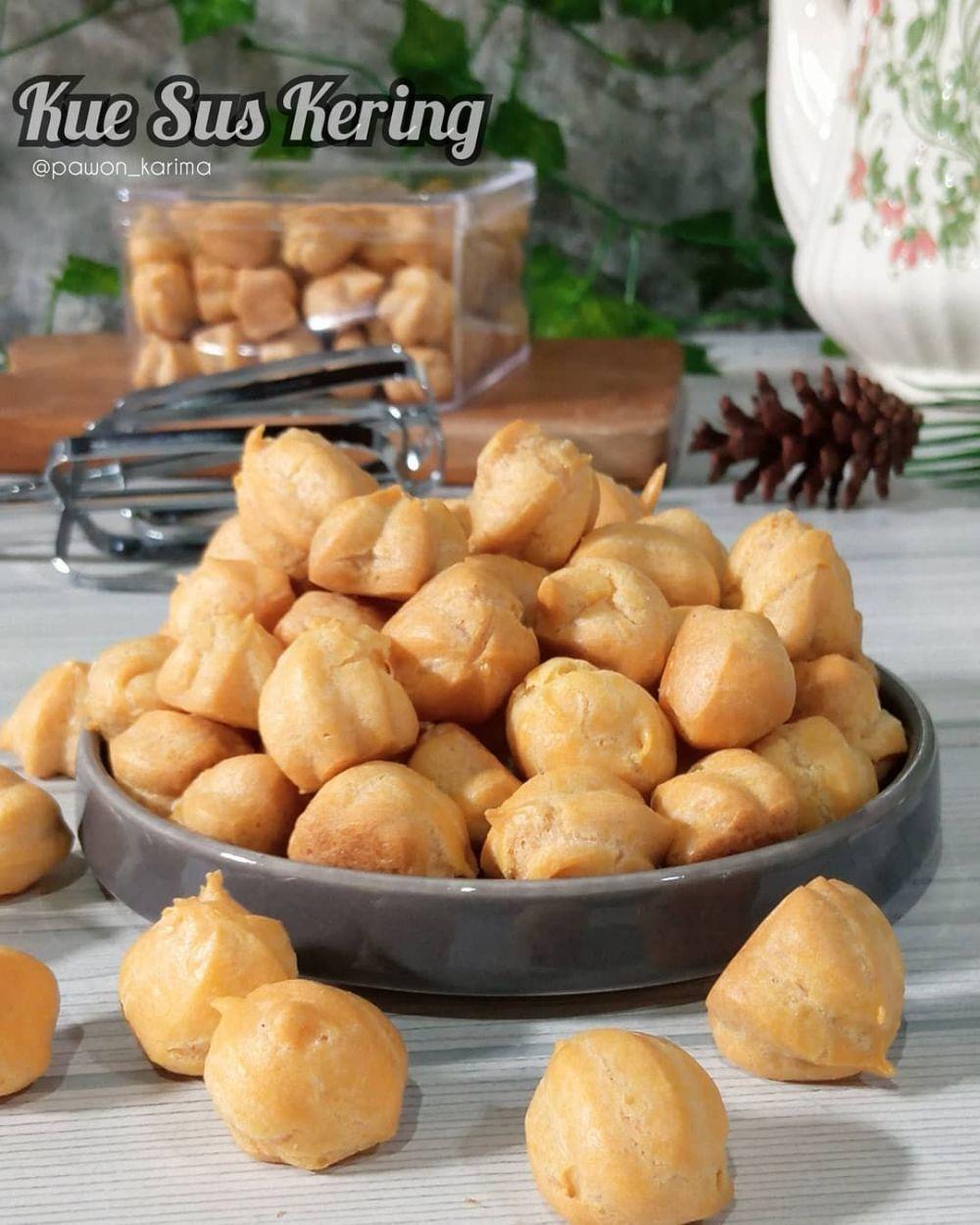 Resep kue sus kering © 2021 brilio.net