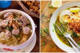 16 Jenis soto khas Indonesia ini bikin ngiler, mana favoritmu?
