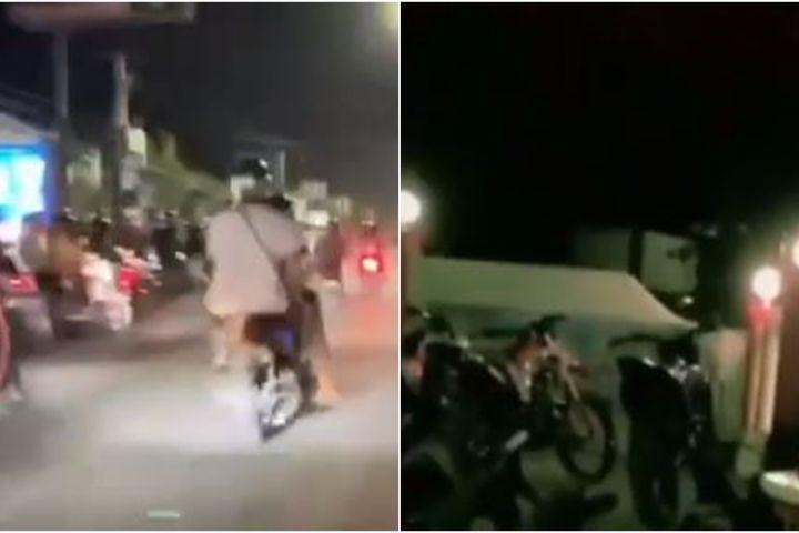 Razia pembalap liar, polisi ini beri hukuman yang bikin netizen ketawa