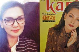 10 Potret lawas Ida Iasha jadi cover majalah, cantiknya bikin terpana