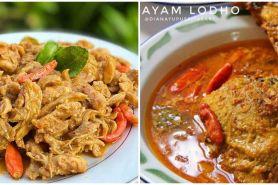 10 Resep menu Lebaran berbahan ayam kampung, enak dan istimewa