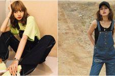 Potret 8 seleb Korea kenakan celana kodok, Yoona SNSD curi perhatian