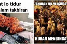 20 Meme lucu malam takbiran ini bikin senyum siap sambut Idul Fitri