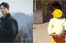 10 Potret masa kecil Song Joong-ki, bukti tampan sejak kecil