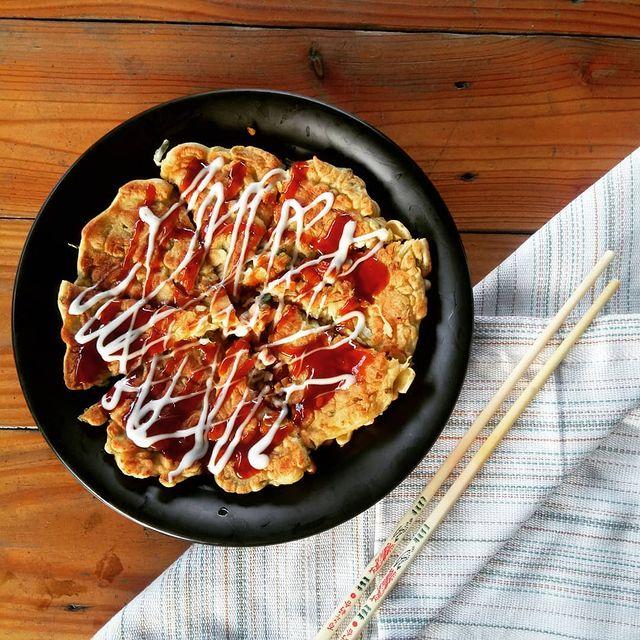 Resep okonomiyaki gurih dan nikmat untuk buka puasa © berbagai sumber